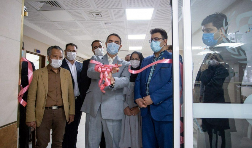 Opening of first mega ICU in Markazi province